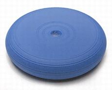 Bal-zitkussen, kleur blauw