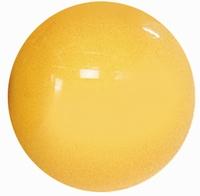 Zitbal classic plus 75 cm, geel