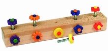 Schroefspel bloemen