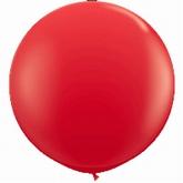 Reuzenballon, rood
