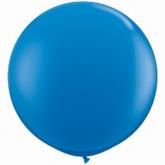 Reuzenballon, blauw